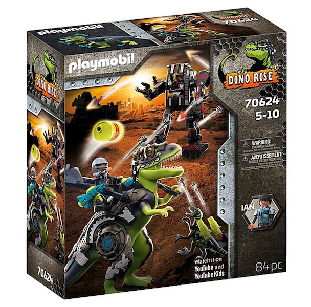 T-rex: Battle of the Giants 70624 by Playmobil