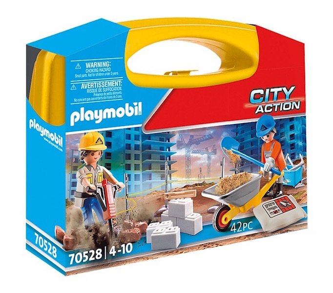 Construction Site Carry Case 70528 by Playmboil