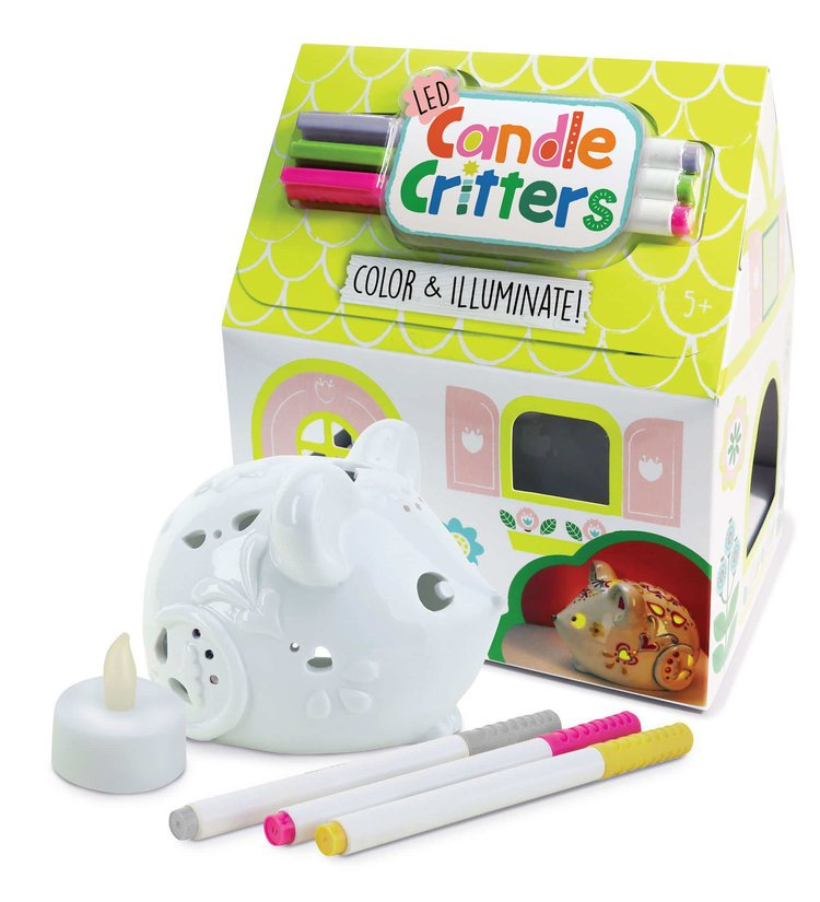 Candle Critters - Mouse by Bright Stripes