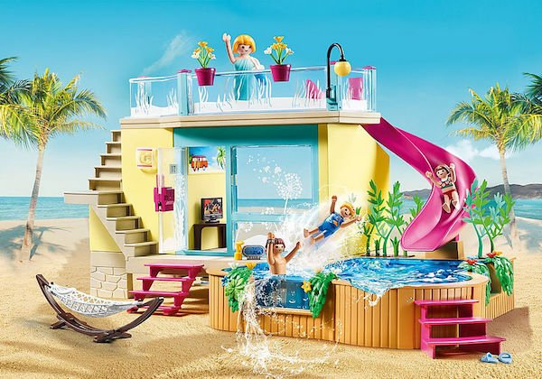 Bungalow with Pool 70435 by Playmobil