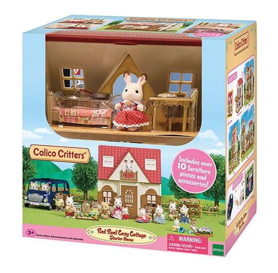 Red Roof Cozy Cottage by Calico Critters