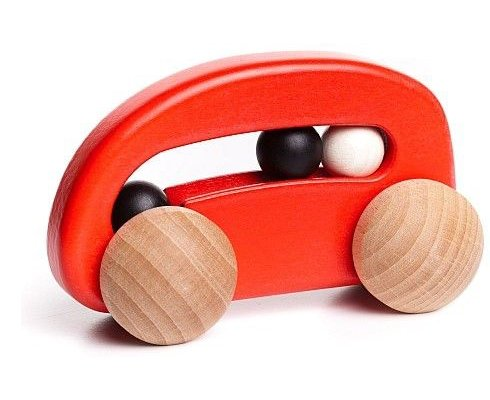 Red Car with Beads by Bajo