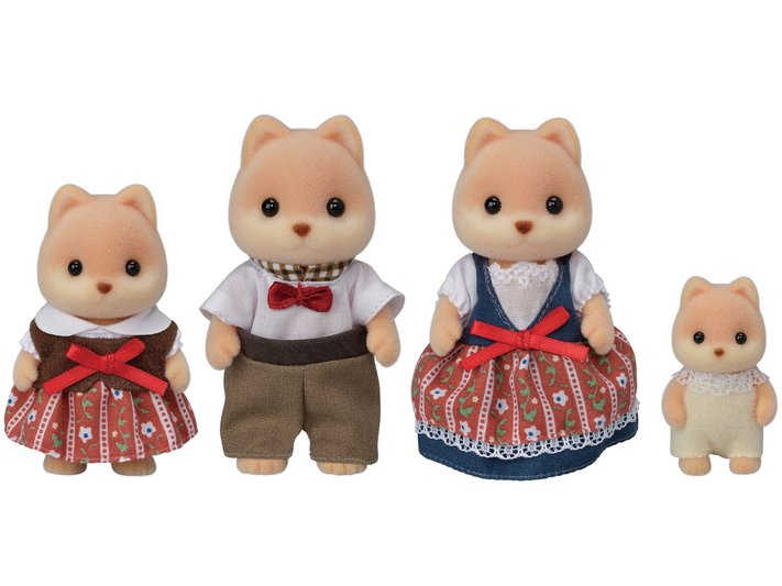 Caramel Dog Family by Calico Critters