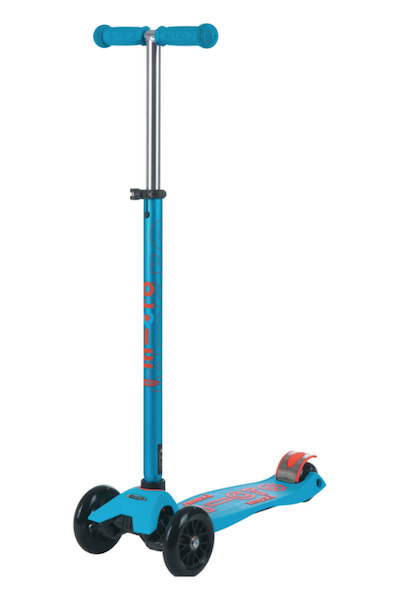Maxi Deluxe Scooter - Caribbean Blue by Micro Kickboard