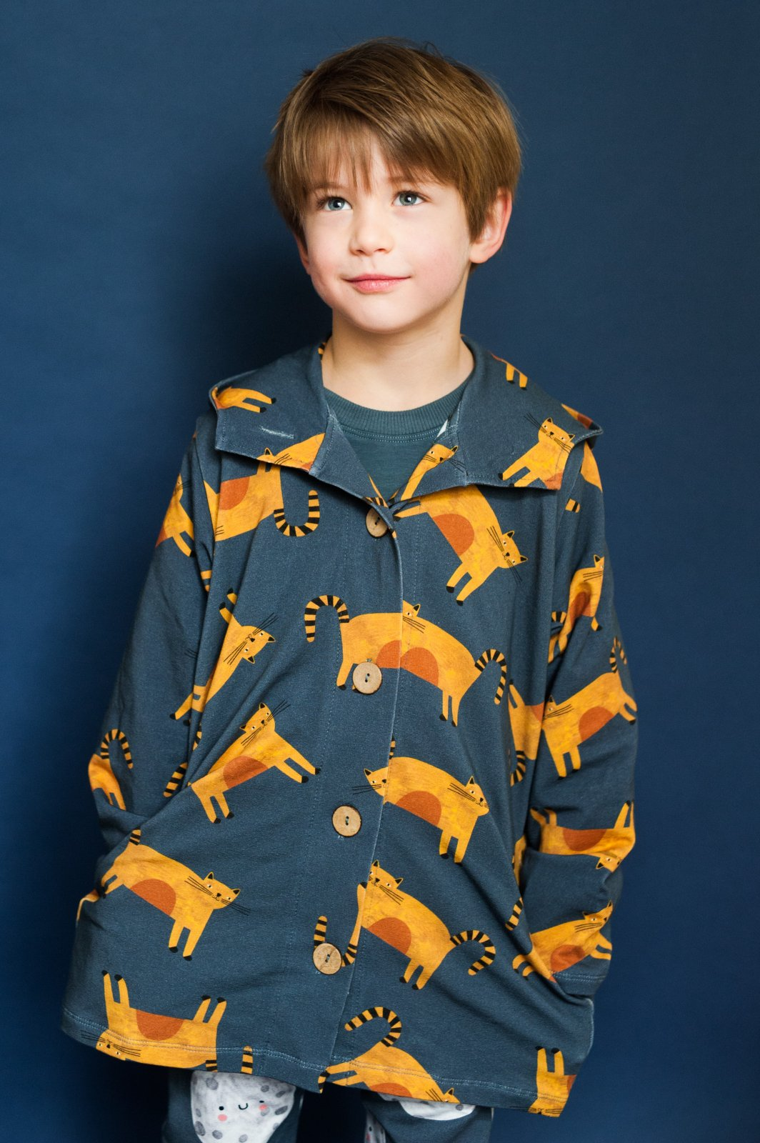 Cozy Cats Hoodie Jacket by Don't Grow Up