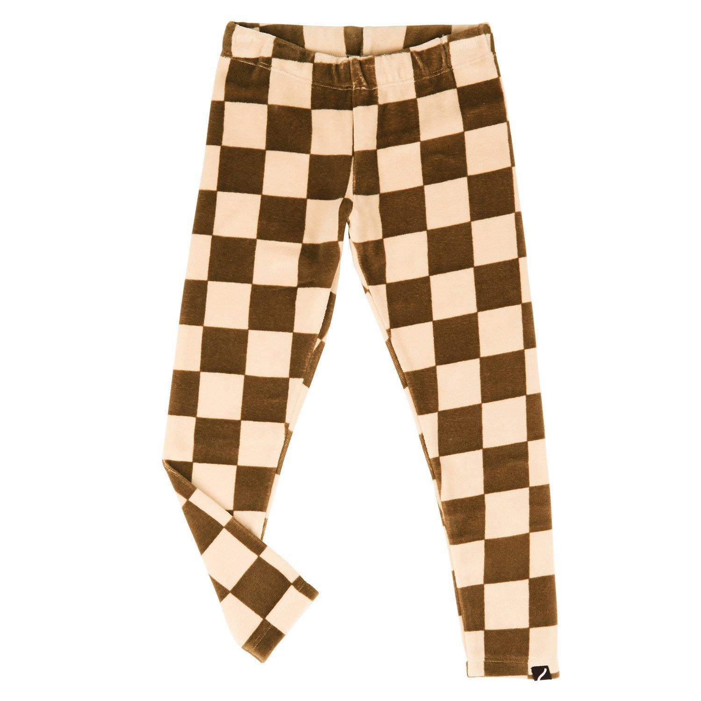 Checkerboard Velvet Leggings by CarlijnQ