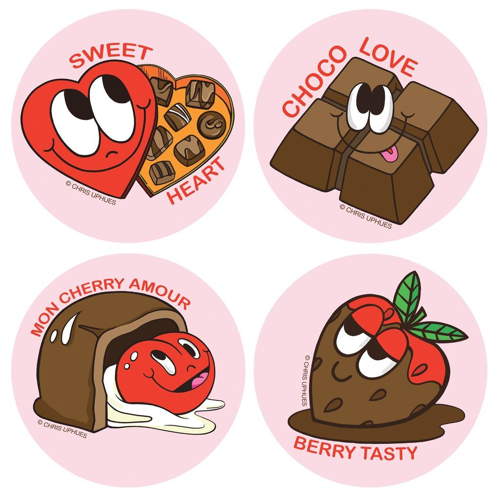 Scratch n' Sniff Stickers - Chocolate by Beautiful Days