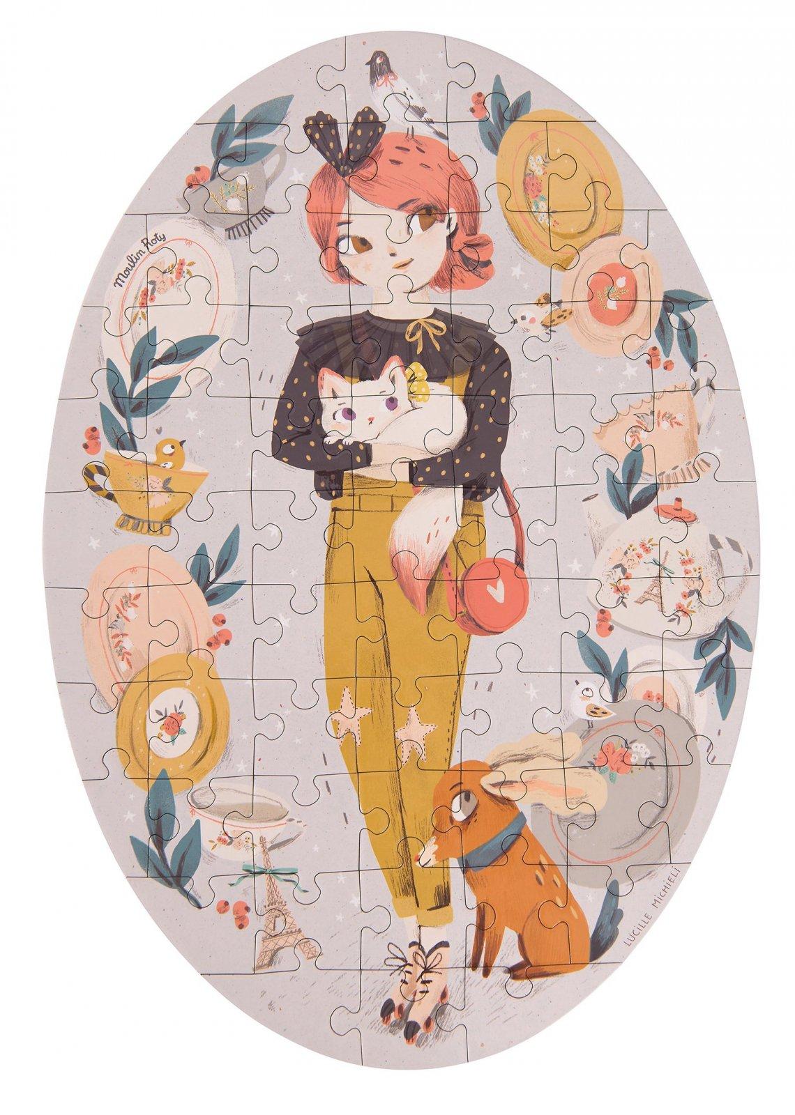 Le Parisiennes Constance 65 Piece Puzzle by Moulin Roty
