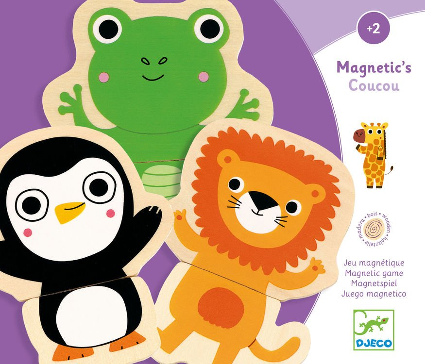 Coucou Mix and Match Animal Magnets by Djeco