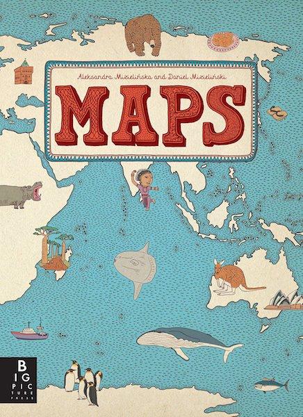 Maps by Aleksandra Mizielinska + Daniel Mizielinski