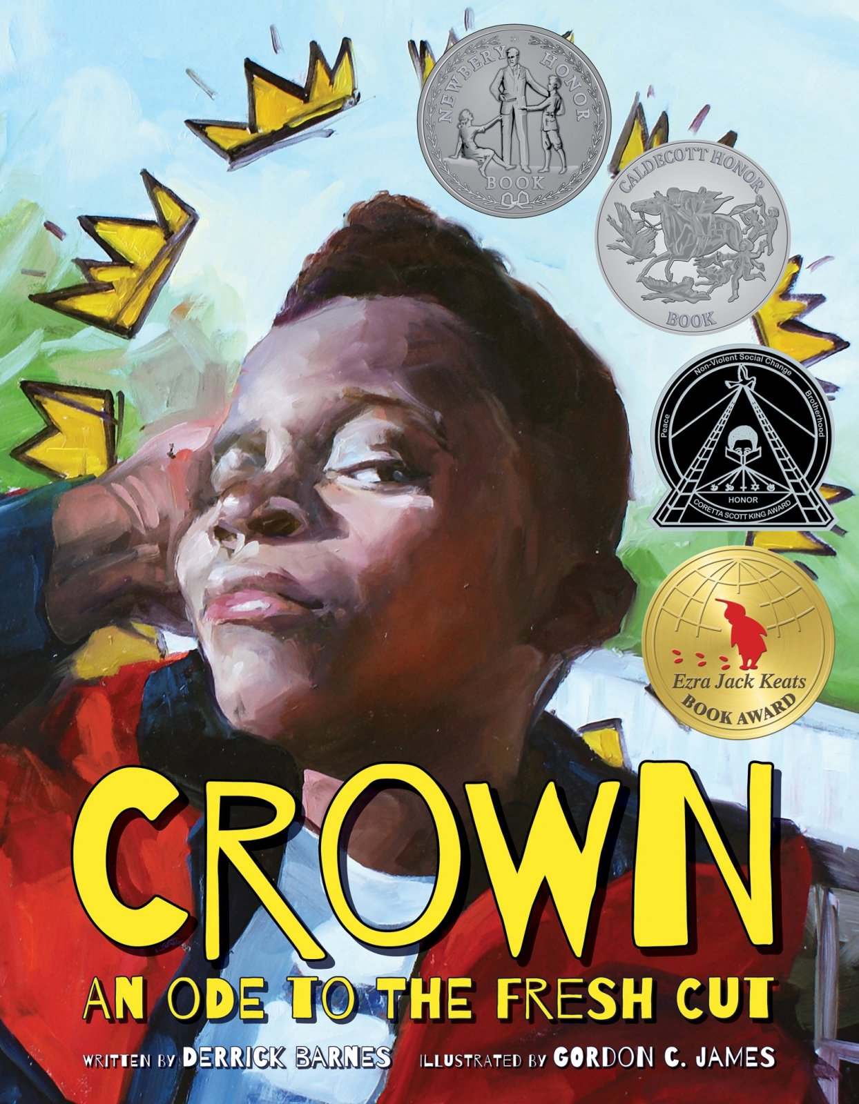 Crown: An Ode To the Fresh Cut by Derrick Barnes