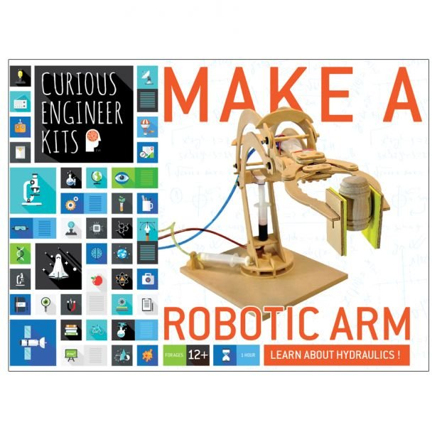curious engineer - make a robotic arm by copernicus