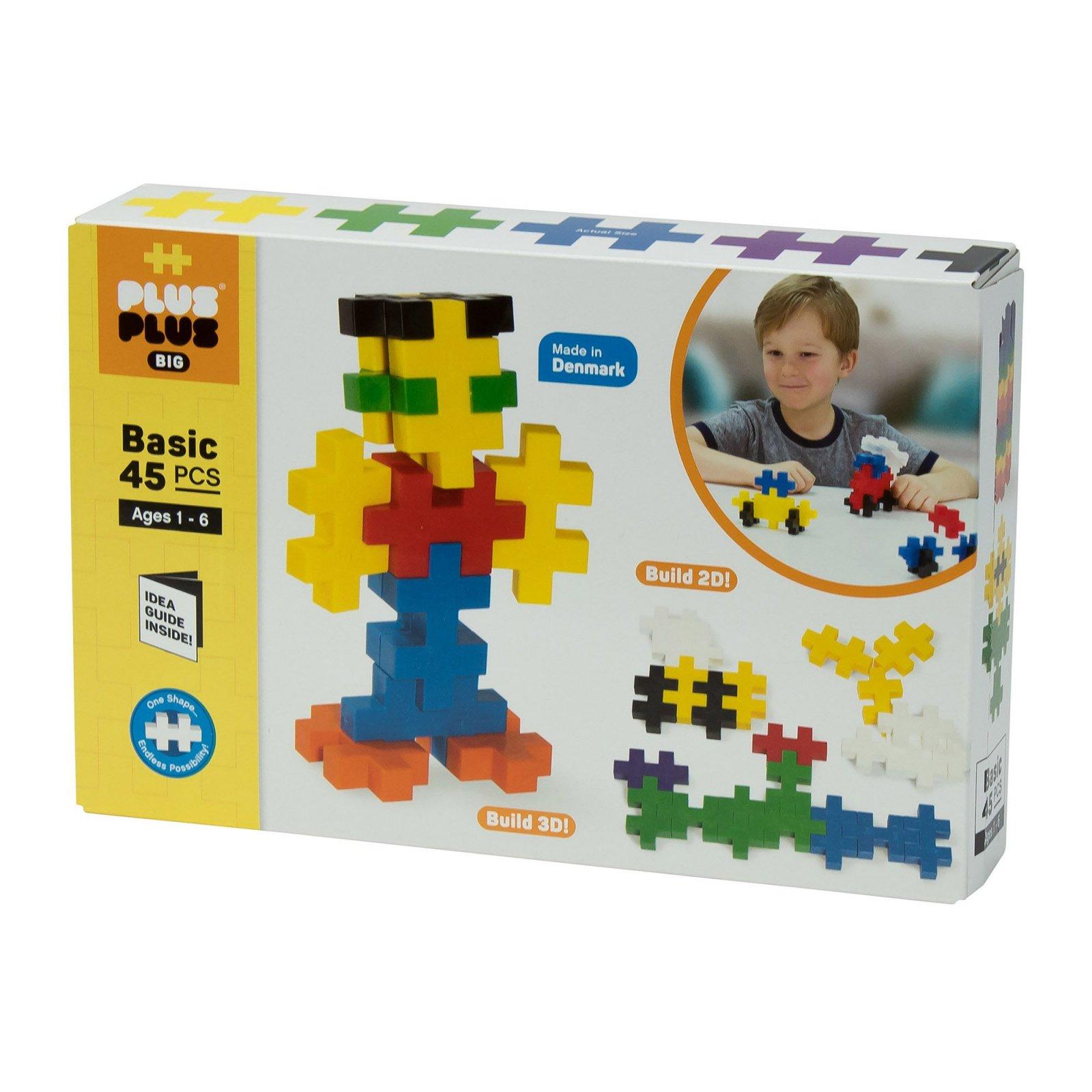 Basic 45 Piece Set Big by Plus Plus