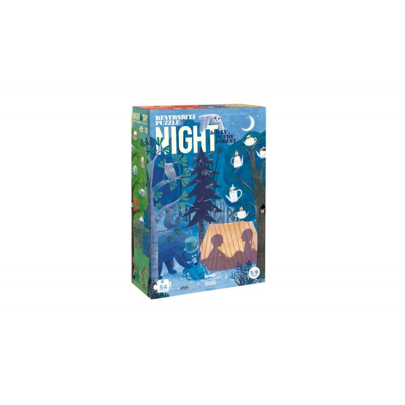 Day and Night Forest Puzzle by Londji