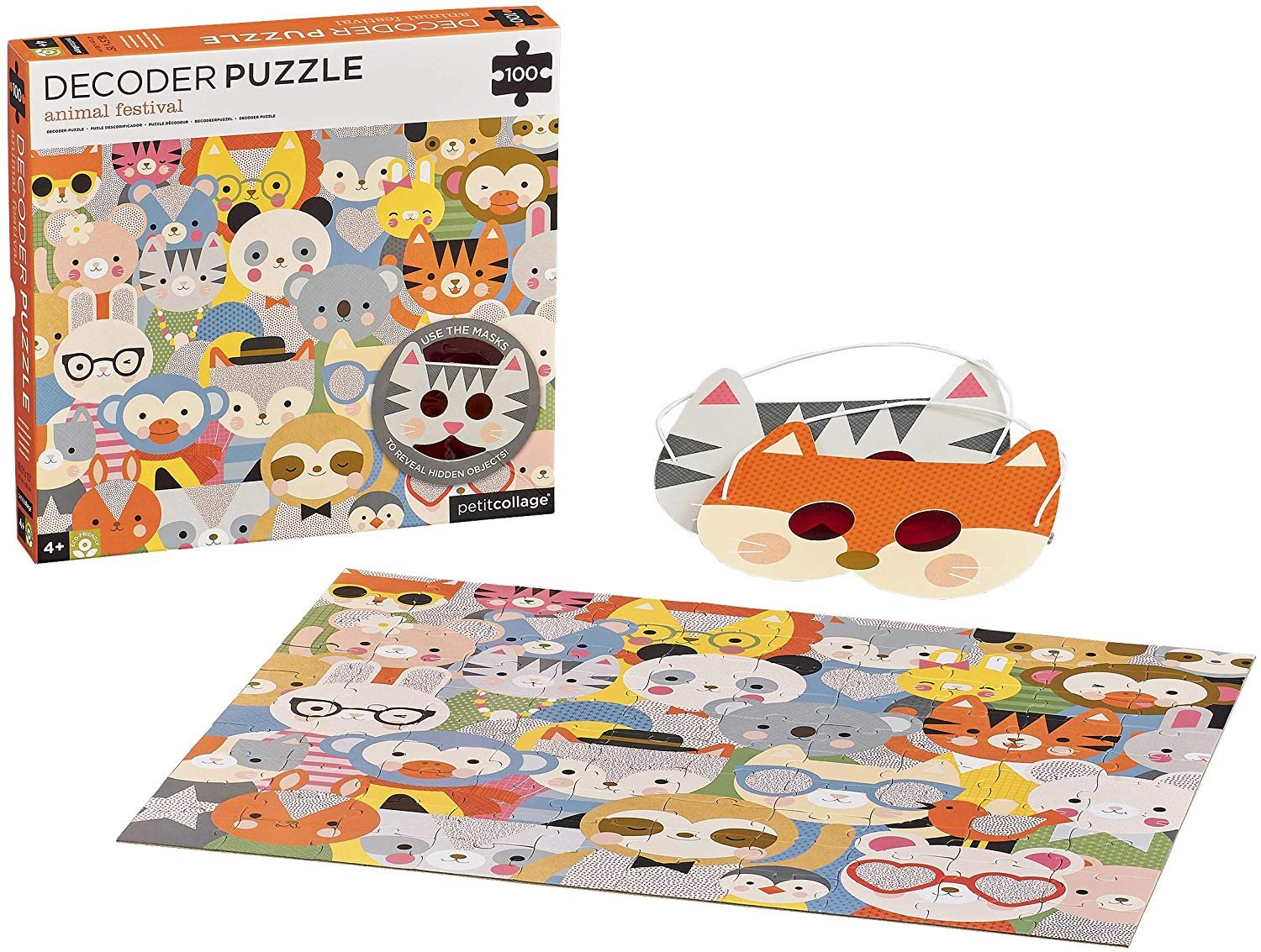 Decoder Puzzle - Animal Festival by Petite Collage