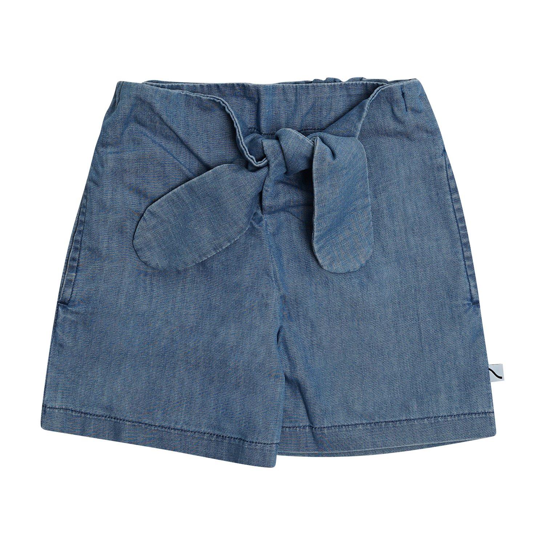 Denim Paperbag Shorts by Carlijnq