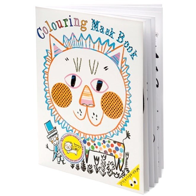 Colouring Mask Book by Draw Me A Lion