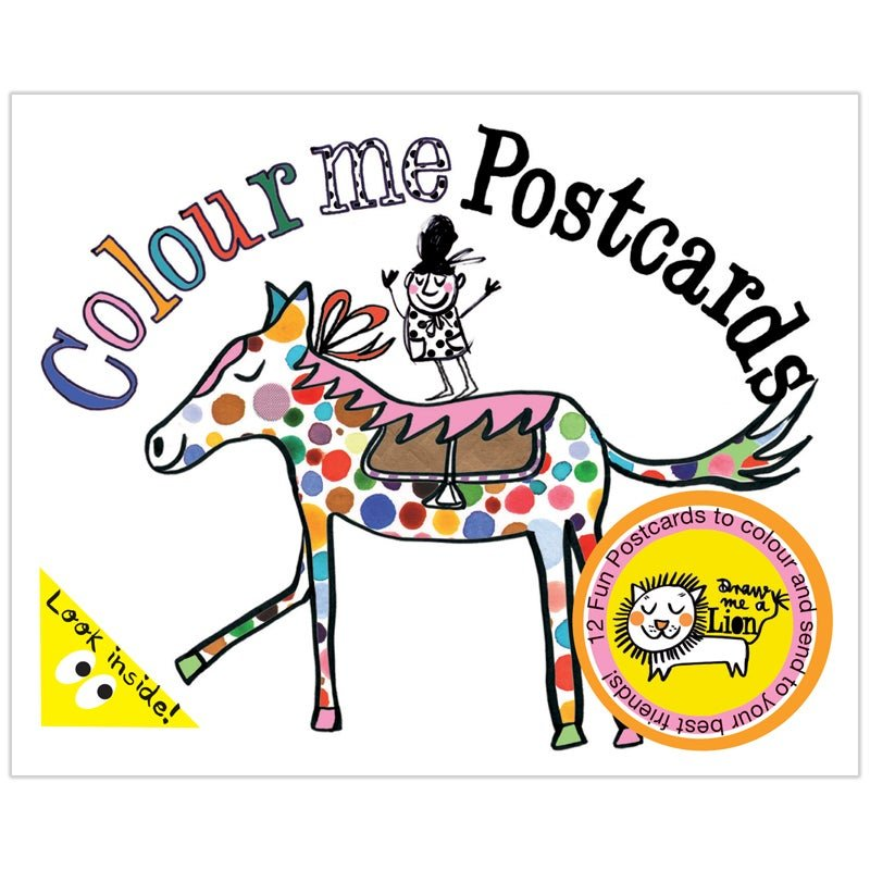 Colour Me Postcards by Draw Me A Lion