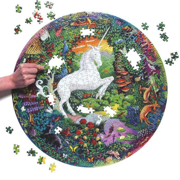 Unicorn Garden 500 Piece Puzzle by Eeboo