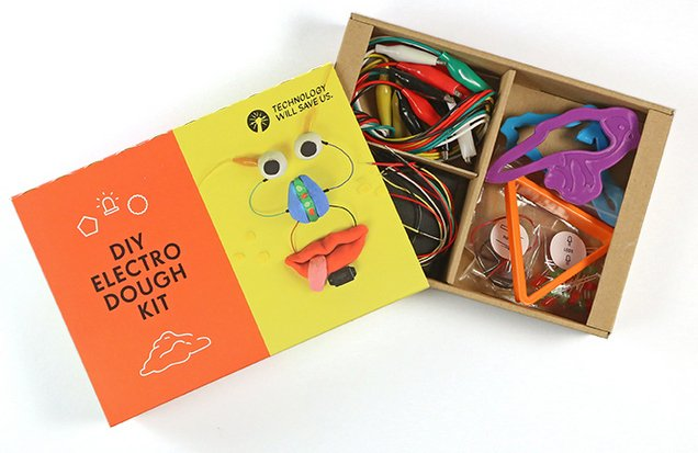 Electro-Dough Kit by Technology Will Save Us