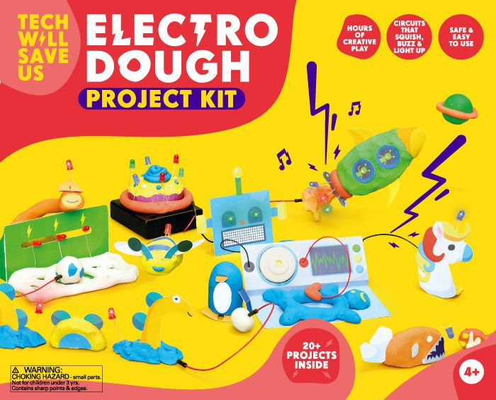 Electro Dough Project Kit by Technology Will Save Us