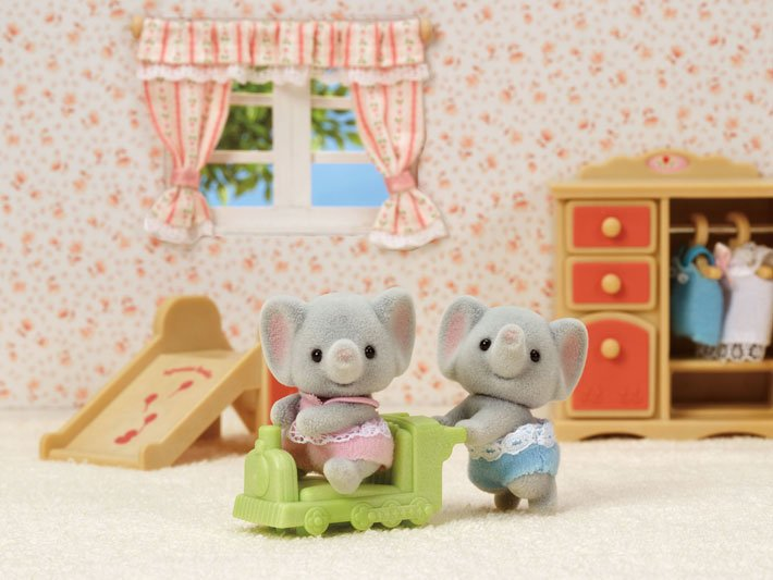Ellwoods Elephant Twins by Calico Critters