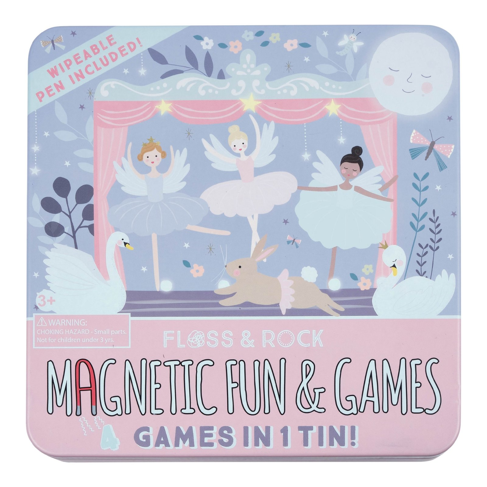 Magnetic Fun and Games Tin - Ballet Theater by Floss and Rock