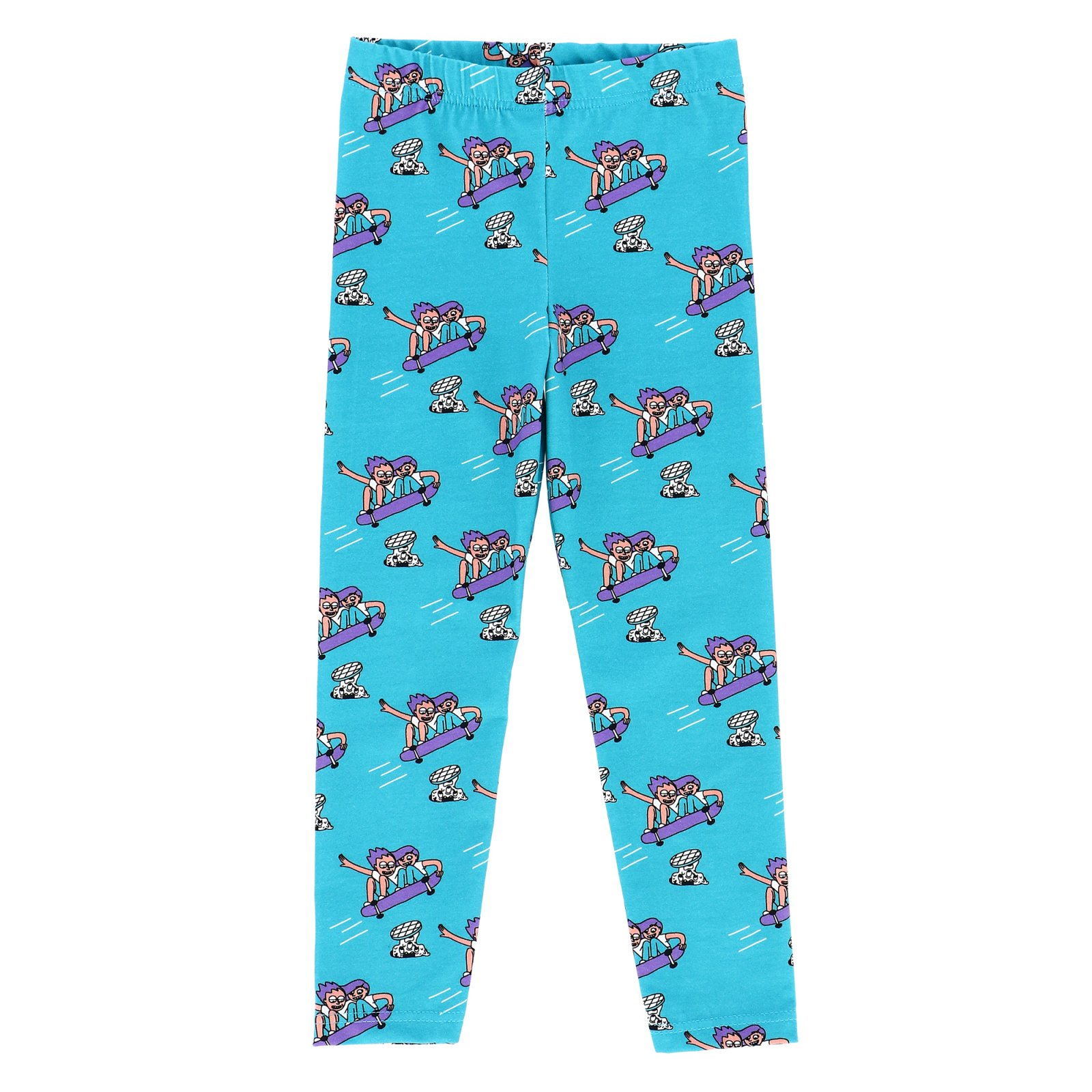 Sk8 Party Leggings by Jelly Alligator