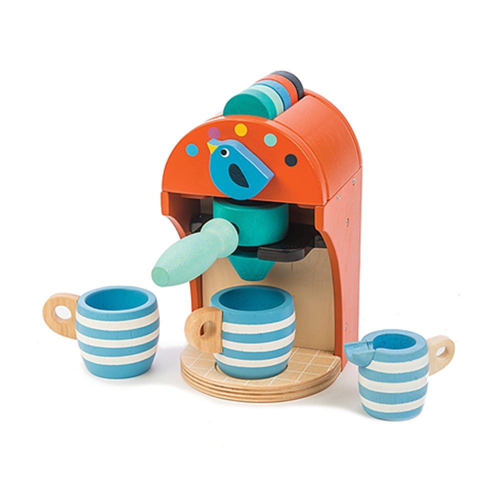 espresso machine by tender leaf toys