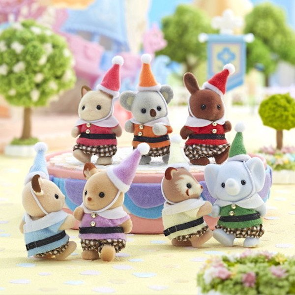 Fairy Tale Friends by Calico Critters