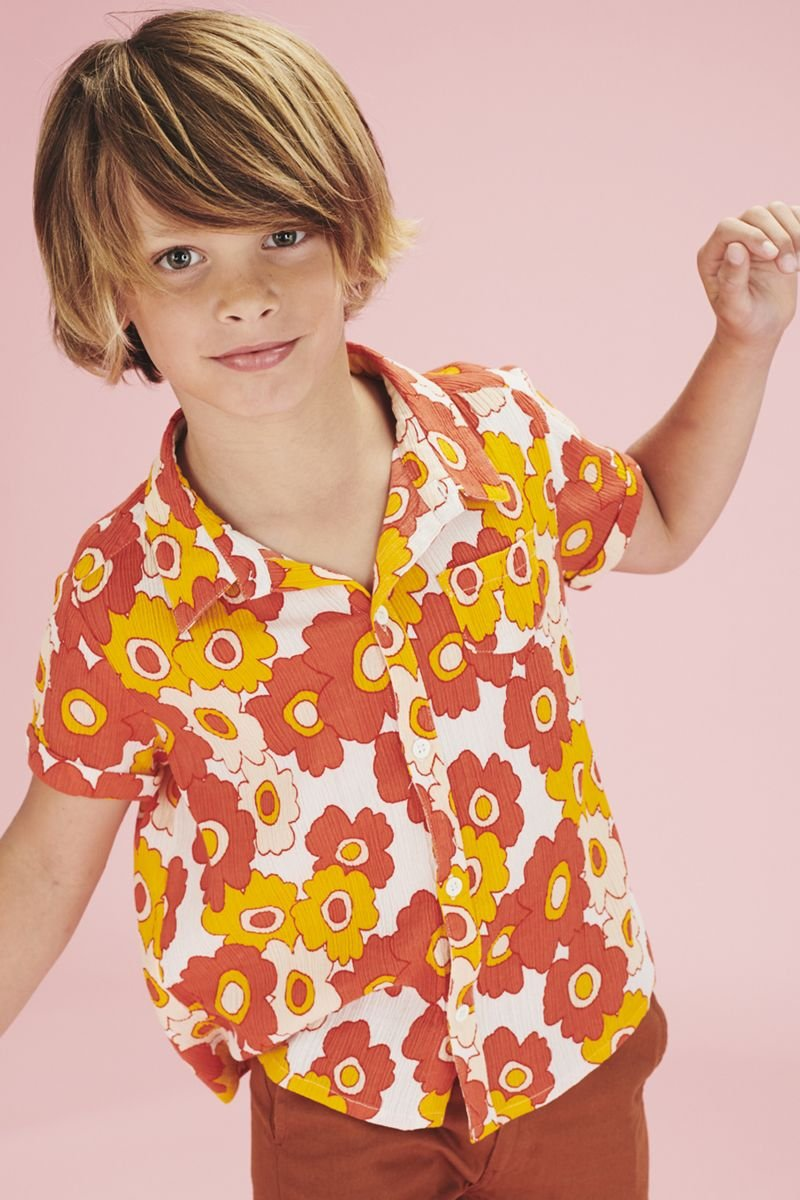 Flower Power Button Up by Lily Balou