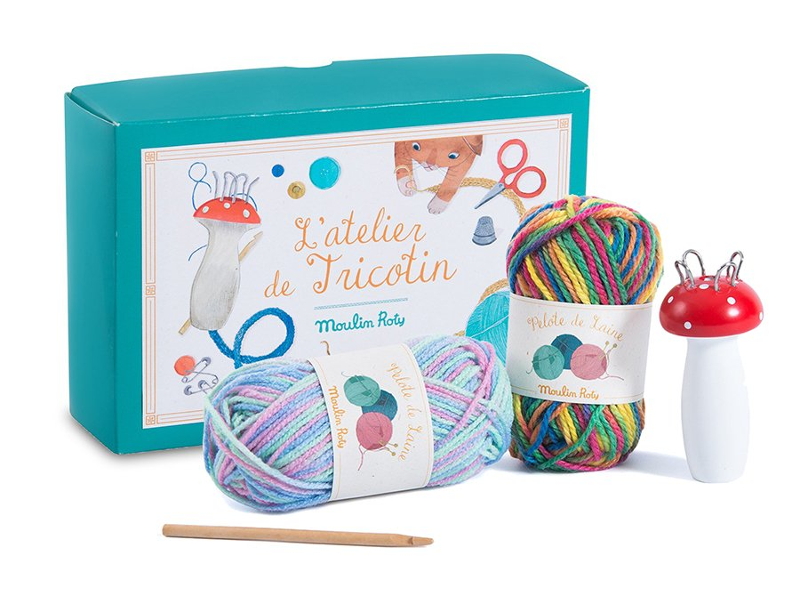 French Knitting Kit by Moulin Roty