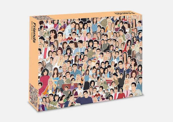 Friends 500 Piece Puzzle by Smith Street