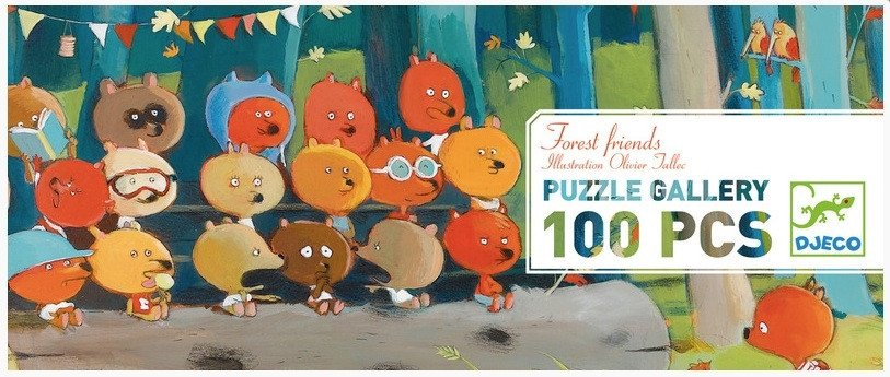 Gallery Puzzle - Forest Friends by Djeco