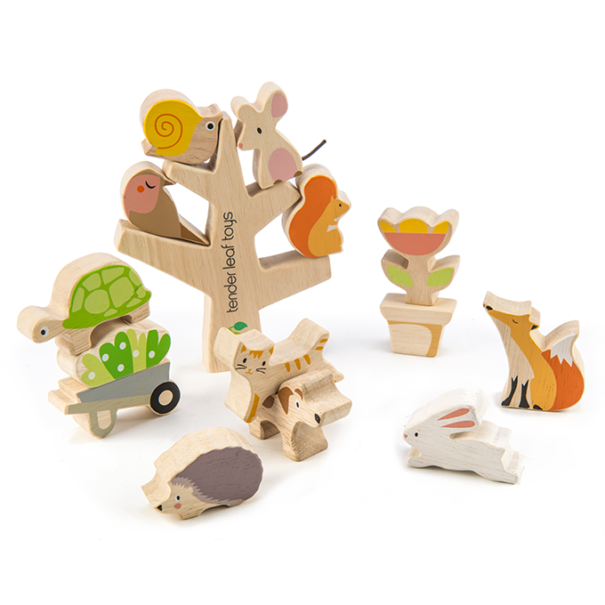 Stacking Garden Friends by Tender Leaf Toys