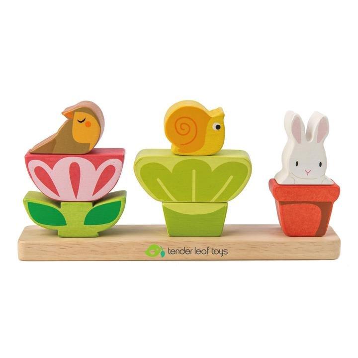Garden Stacker by Tender Leaf Toys