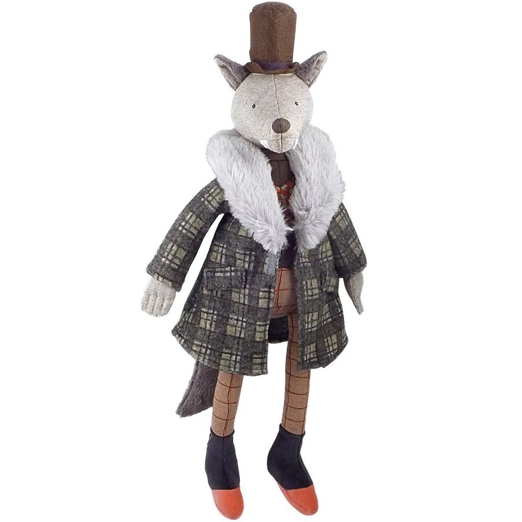 Gentleman Wolf by Moulin Roty