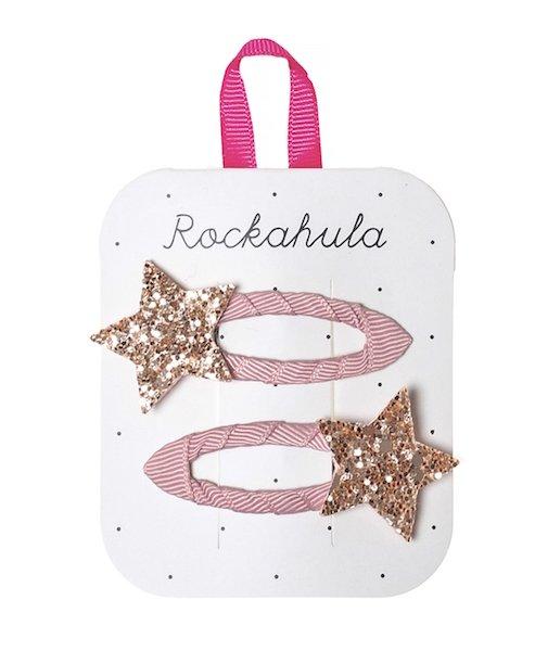 Hair Clips - Glitter Stars by Rockahula