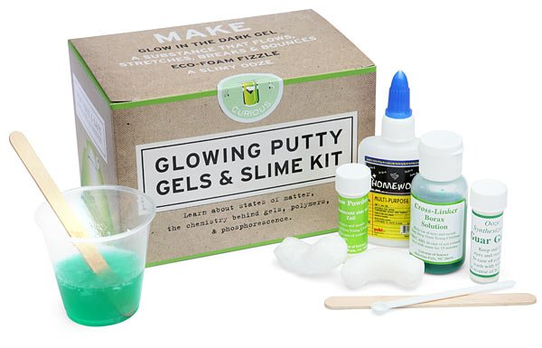 Glowing Putty, Gels And Slime Kit by Copernicus