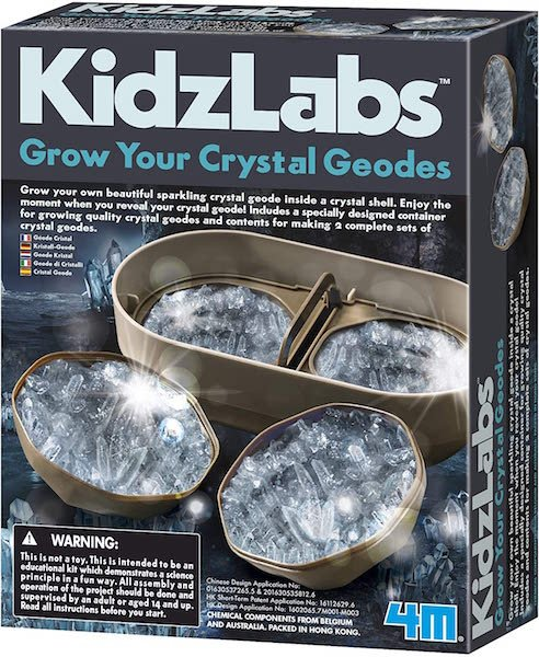 Grow Your Own Crystal Geodes by KidzLabs