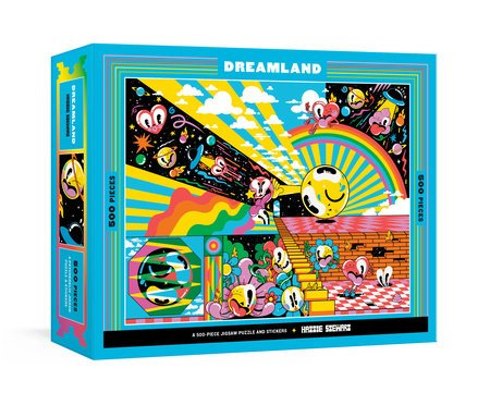 Dreamland 500 pc Puzzle by Hattie Stewart