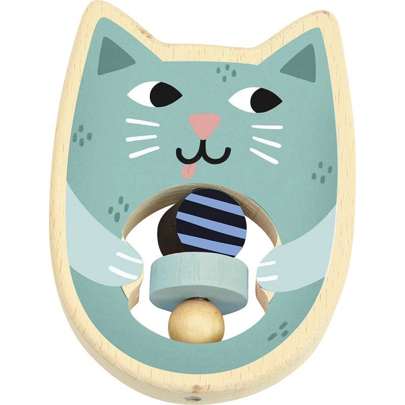 Cat Rattle by Vilac
