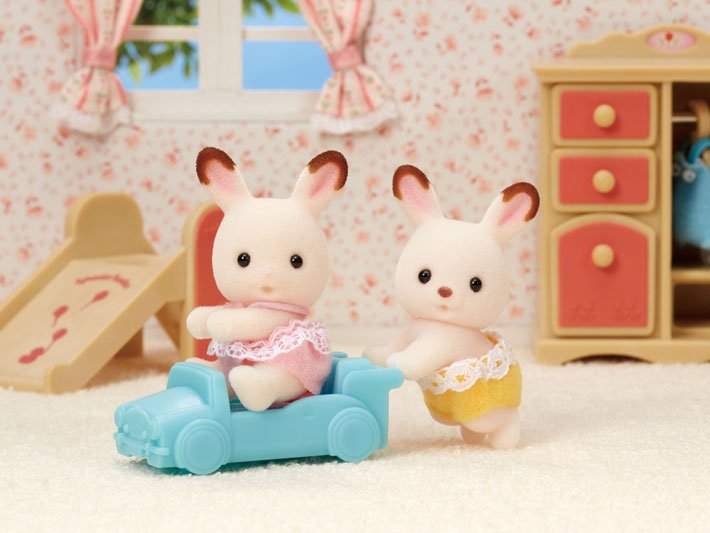 Hopscotch Rabbit Twins by Calico Critters