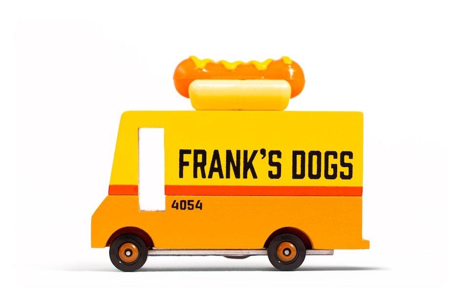 Hot Dog Van by Candylab