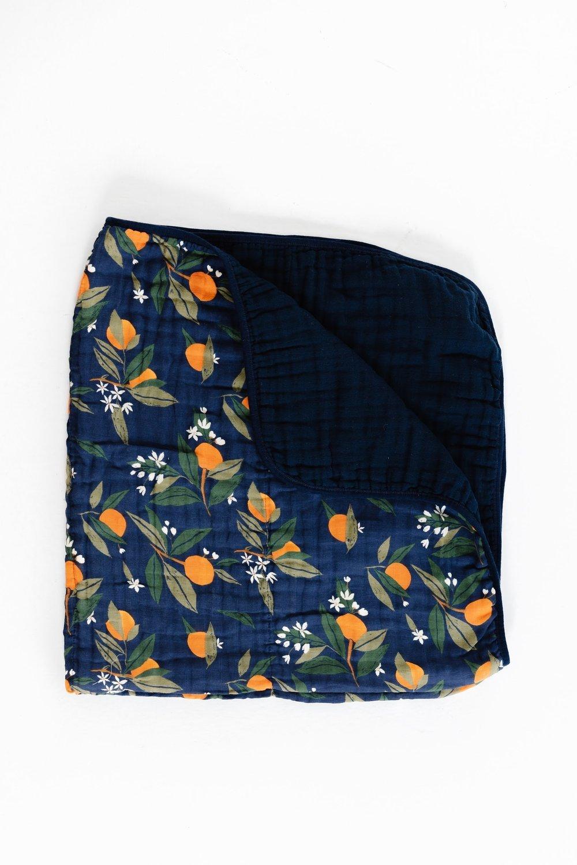 Orange Blossom Quilt by Clementine Kids
