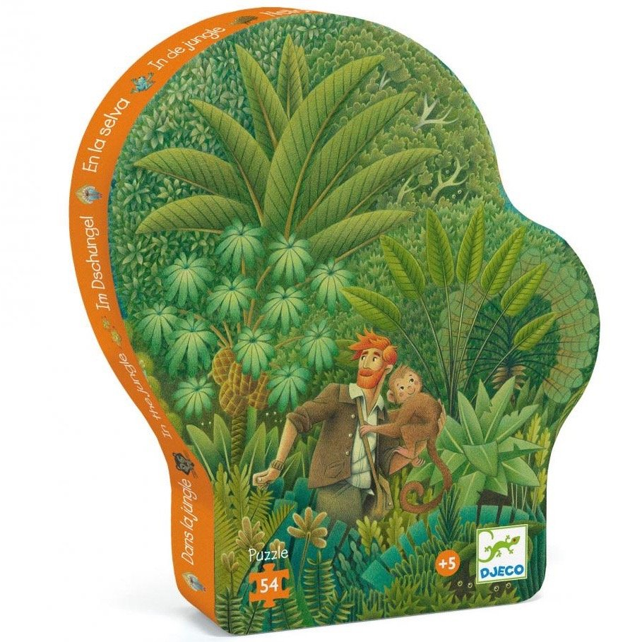 In the Jungle Puzzle by Djeco