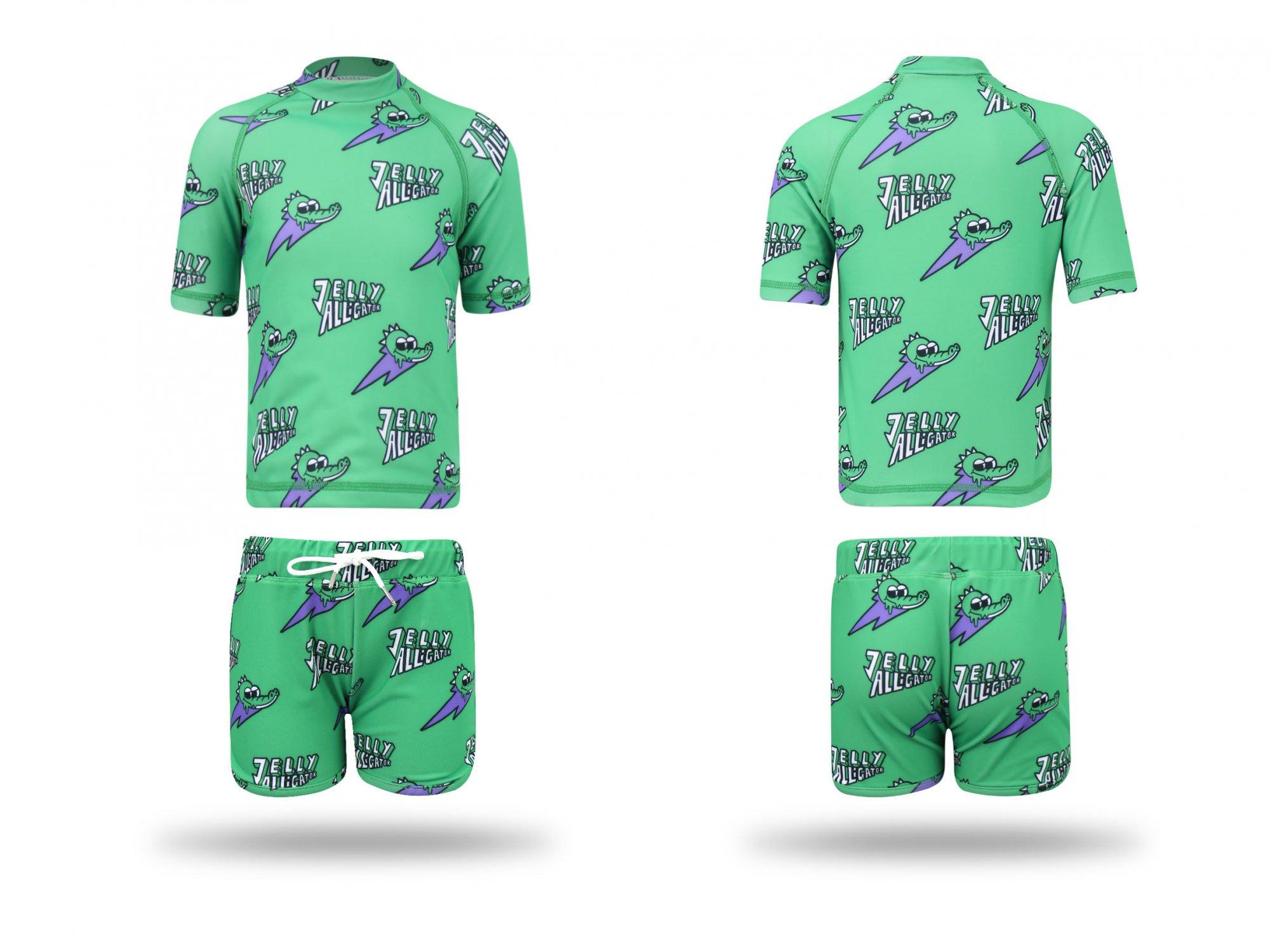 Green Gator Swim Shirt