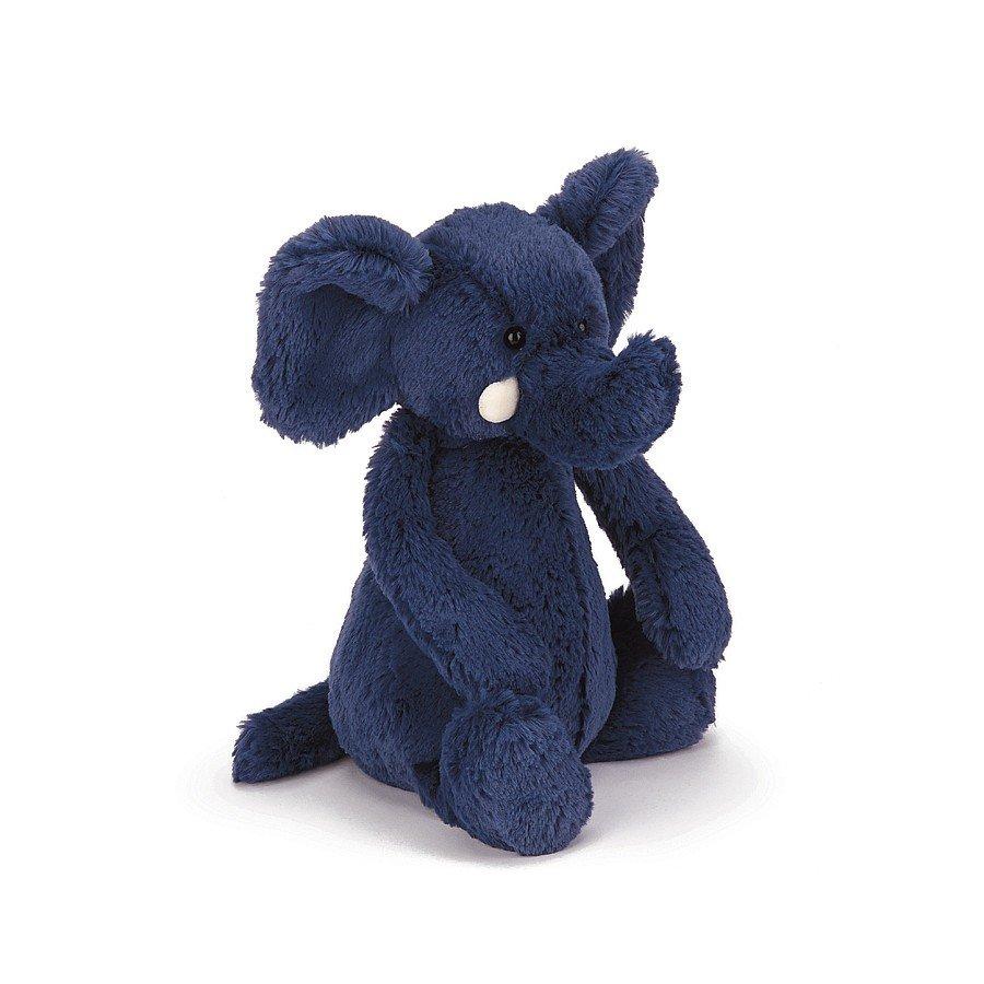 Medium Bashful Blue Elephant by Jellycat