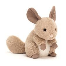Cheeky Sandy Chinchilla by Jellycat