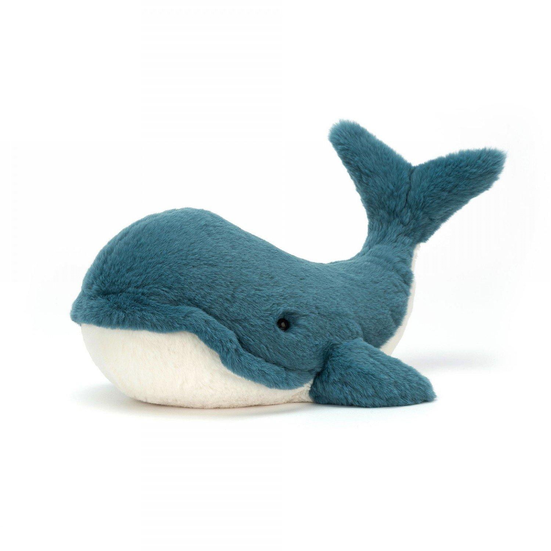 Medium Wally Whale by Jellycat